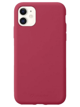 Cellularline-IPHONE 11 RED cover